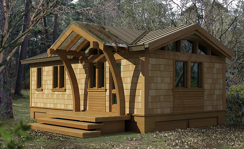 Lummi small house plans greenpod products for Small cabin additions