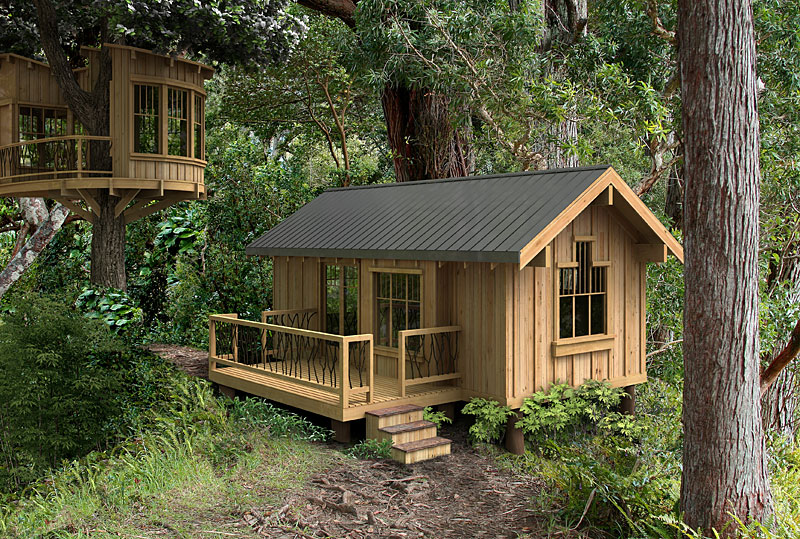 Salal model plans greenpod products for Tiny house kits california