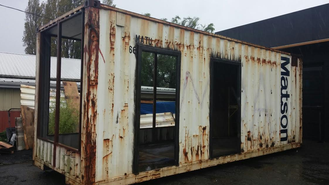 starting a container home